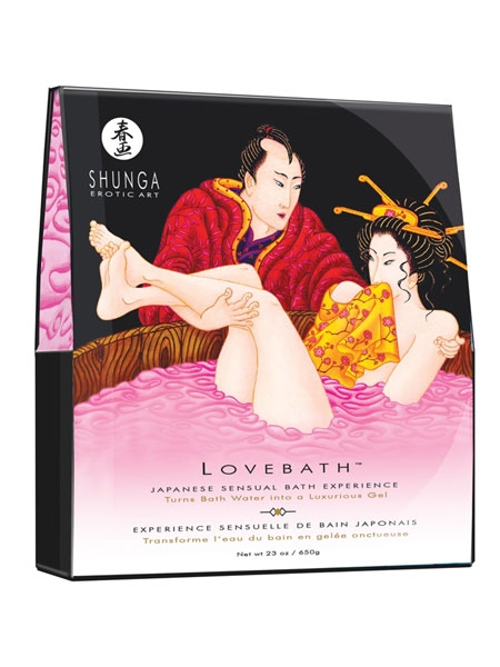 1. Boutique érotique, Shunga Lovebath Dragon Fruit